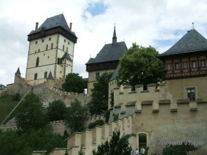 The towers of Karlštejn.
