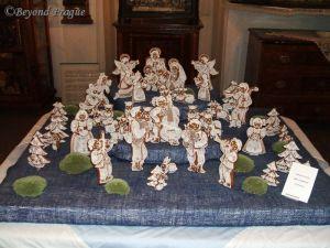 Gingerbread nativity scene