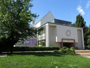 Brno House of the Arts, reconstructed in Functionalist style in 1946
