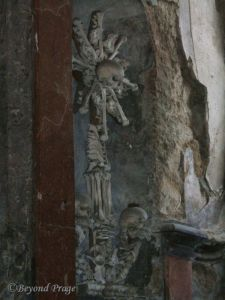 Altarpiece in the ossuary