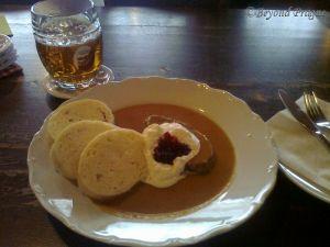 Svíčkova - A proud national dish