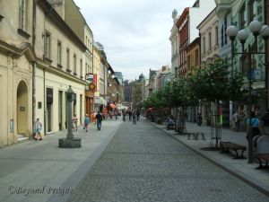 A pleasant walk in Opava's historic centre
