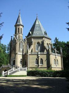 Schwarzenberg family tomb near Třeboň.