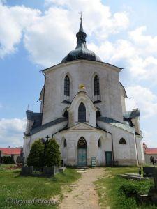 The main church building.