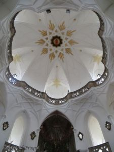 Church dome interior.
