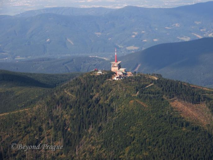 Lysá Hora is, at 1324 metres above sea level, the highest peak in the Moravian Silesian region.