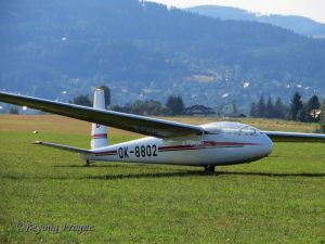 Let L-13 Blaník, the world's most produced and widely used sailplane.