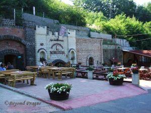 Wine cellars in Eger's suburbs