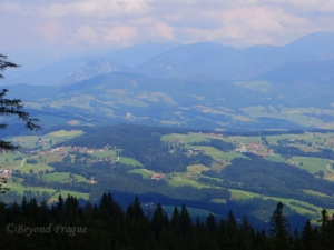 The view from Schockl Mountain