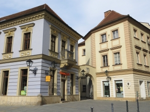 Former site of the municipal brewery in Brno, where Poupě once worked, as it appears today.