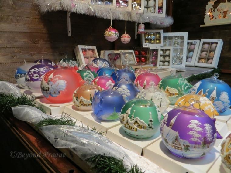 More handmade glass ornaments.