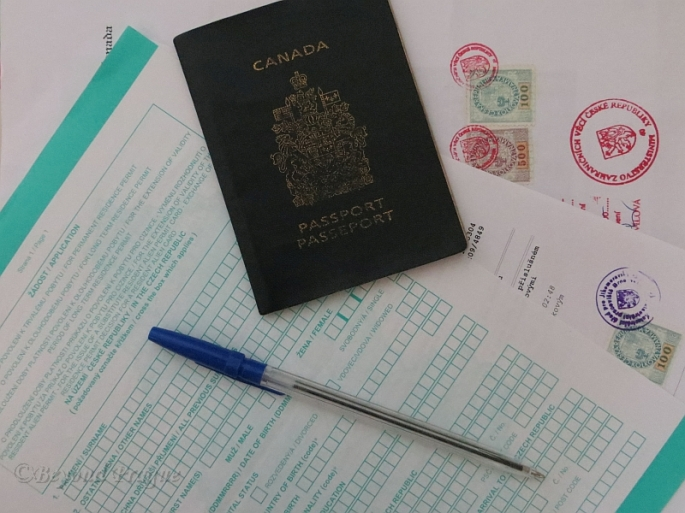 Passports, applications, revenue stamps, notary seals and a lot of patience are just the beginning  of the road to any sort of legal status in the Czech Republic.