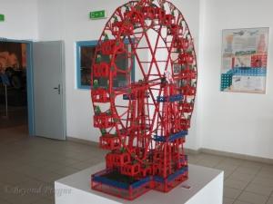 A Ferris Wheel made of Merkur