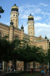 The outstanding Dohány Street Synagogue.