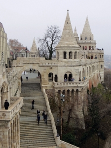 Fisherman's Bastion, one of the many unique features of the castle quarter.
