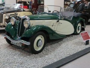 A Praga Baby from 1936. The Baby was introduced in 1934 as an economy car after the Great Depression.