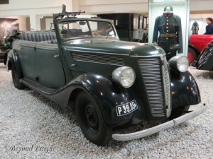 A late 1930s model Praga Alfa. The Alfa series debuted in 1913 and was produced until 1942.
