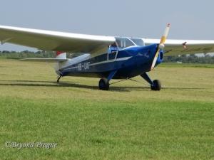 Praga's E.114 Air Baby, the pinnacle of the company's foray into aviation.