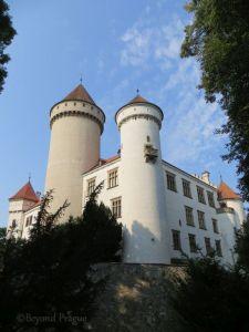 Konopiště chateau, on the outskirts of Benešov.