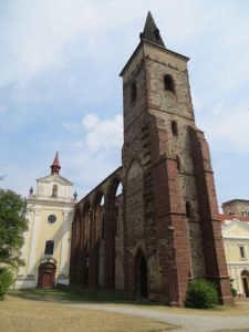 The former Benedictine monastery  in Sázava.